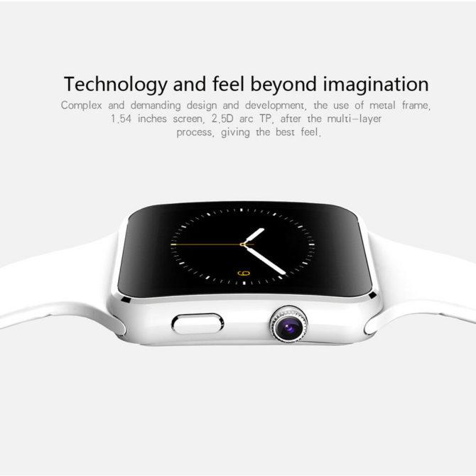 ساعت هوشمند smart watch X6D