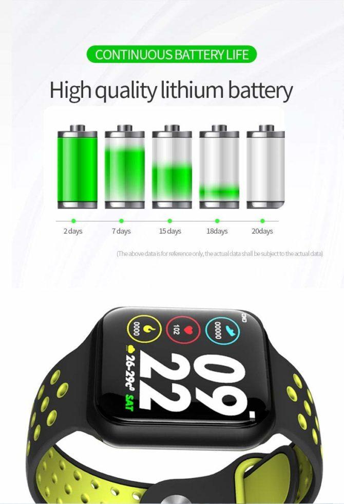 ساعت هوشمند smart watch F8